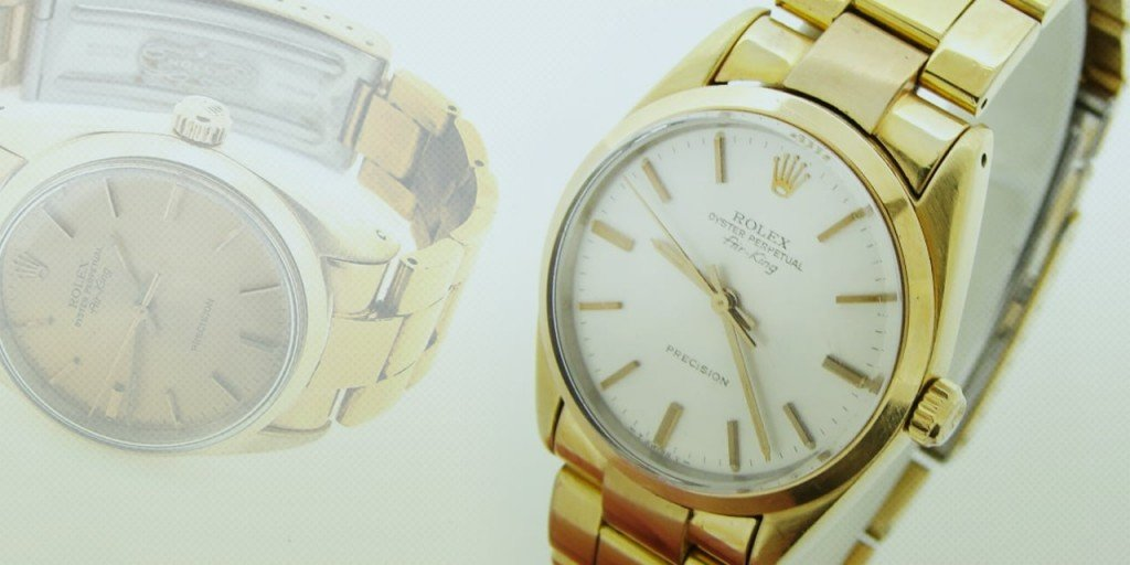 Hunting for Golden Eggs: The Gold Shell Rolex Air King Watch