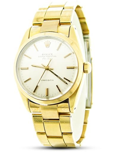 Rolex Air-King Ref. 5520 Gold Shell