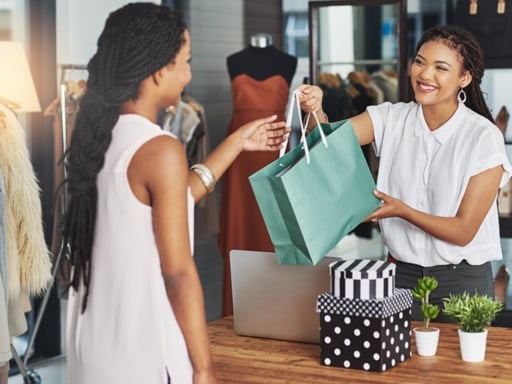 In-Store vs Online Shopping - In-Store Purchase