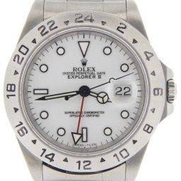 Mens Rolex Stainless Steel Explorer II White  16570 (SKU E709256NMT)