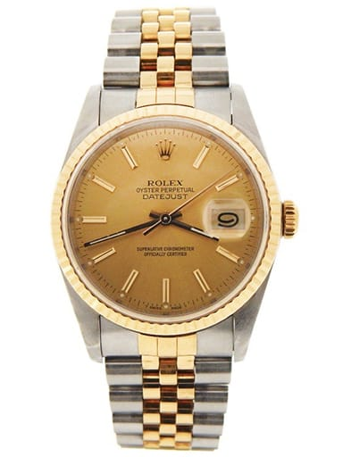 Rolex Datejust Two-Tone