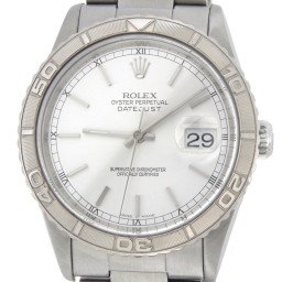 Mens Rolex Stainless Steel Datejust Turn-O-Graph Silver  16264
