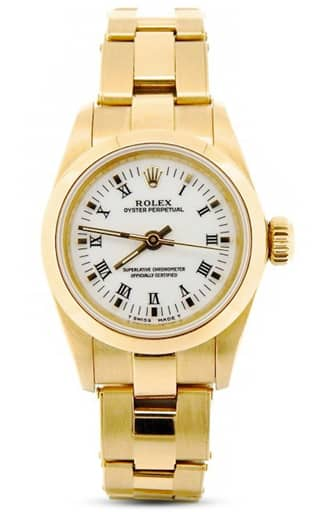 Ladies Gold Oyster Perpetual 67188
