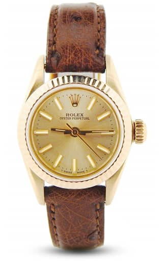 Ladies Gold Oyster Perpetual 67197