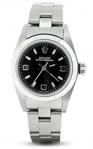 Ladies Stainless Steel Oyster Perpetual 76080