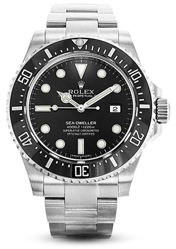 Rolex Mens Sea-Dweller Stainless Steel 116600