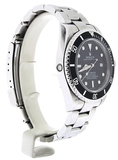 Mens Rolex Stainless Steel Sea-Dweller Black 16600
