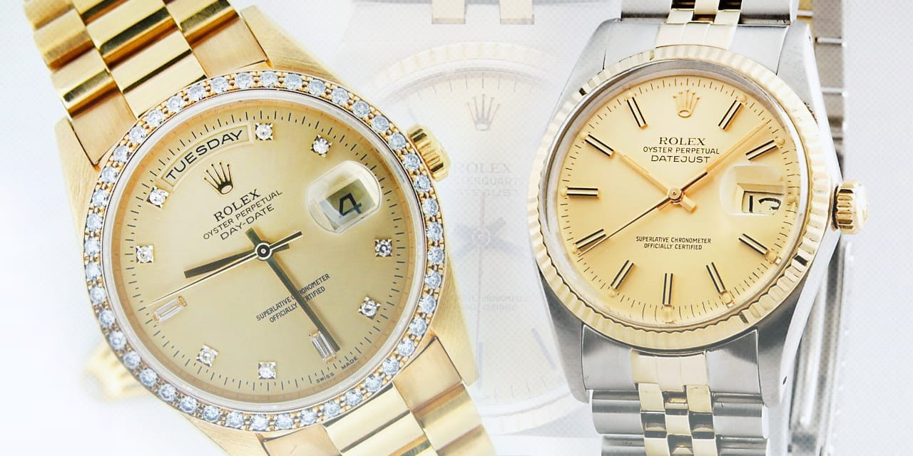 Post image for The 36mm Rolex Watches