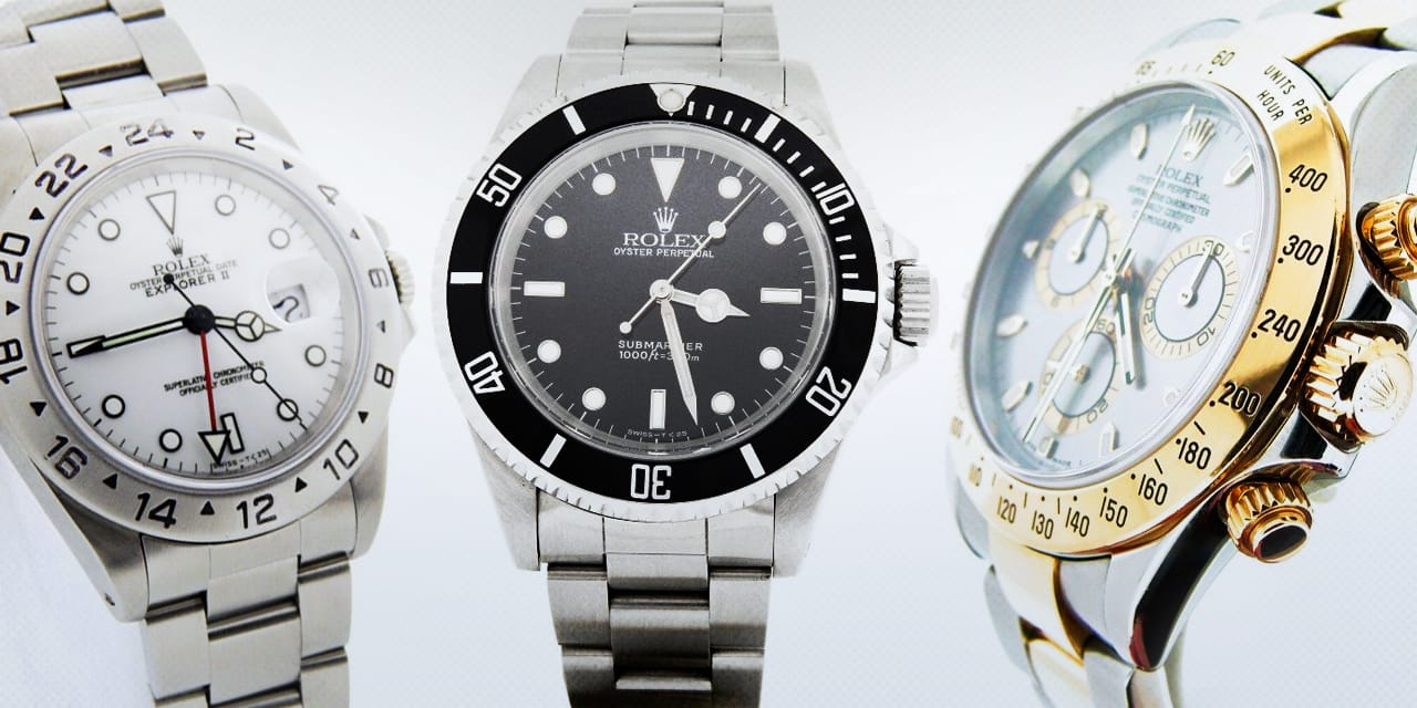 Post image for The 40mm Rolex Watches