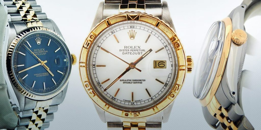 Two Tone Rolex Datejust Compare: 1600, 1601, 1625 vs. 16003, 16013, 16253