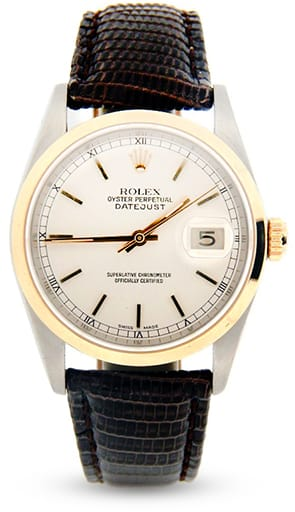 Rolex Mens Datejust Two-Tone 16203