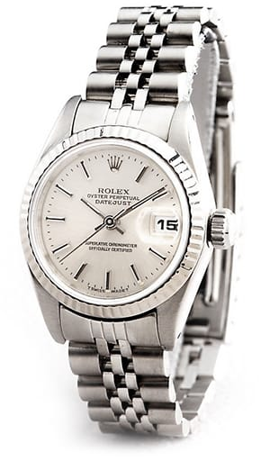 Ladies Rolex Stainless Steel Datejust Silver 69174