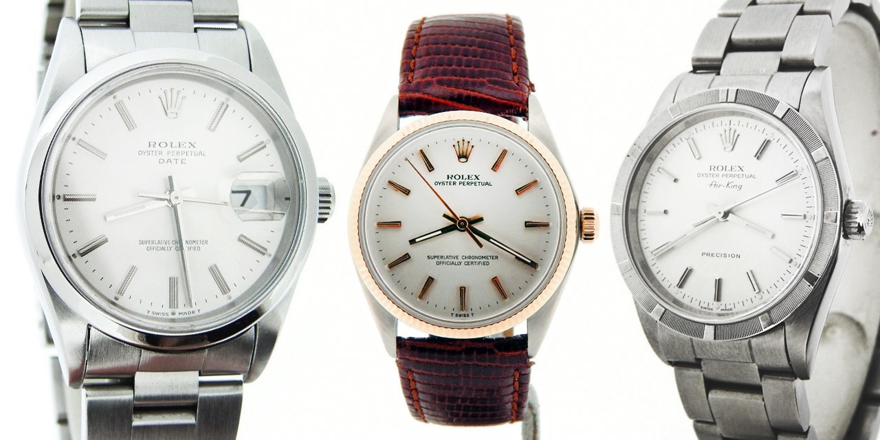 Post image for The 34mm Rolex Watches