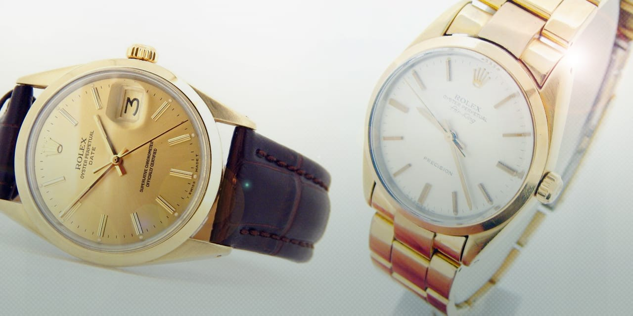 Post image for Gold Shell Rolex Watches
