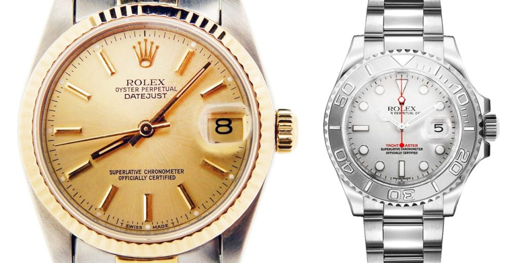 Midsize Rolex Watches