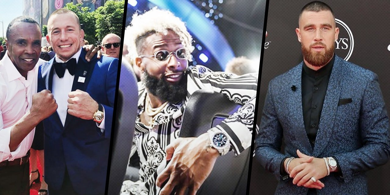 Post image for Rolex Spotting at the 2018 ESPYS Awards