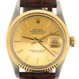 Mens Rolex Two-Tone Datejust Champagne 16013 (SKU 9780425BRMT)