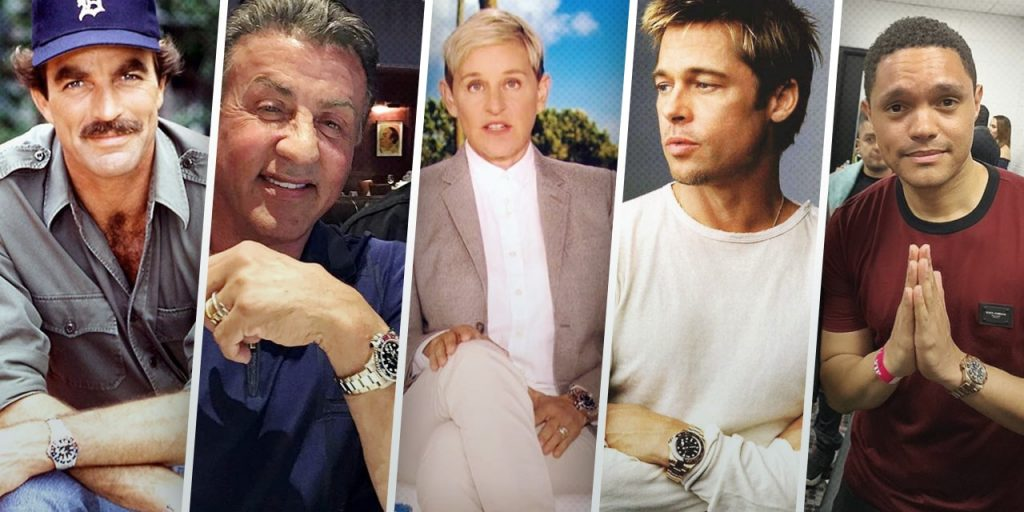 Celebrities Who Wear the Rolex GMT-Master Watch