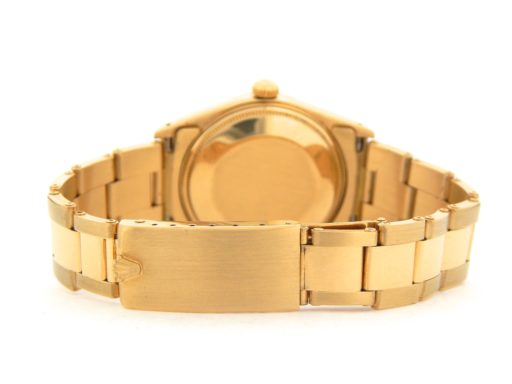 Rolex 18K Yellow Gold Date 15038 Champagne -5