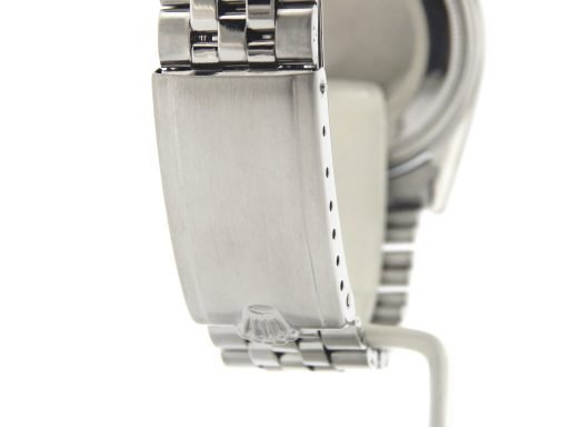 Rolex Stainless Steel Datejust 1603 Slate Gray Diamond-4