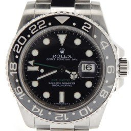 Mens Rolex Stainless Steel GMT Master II Black  116710 (SKU Z789927MT)