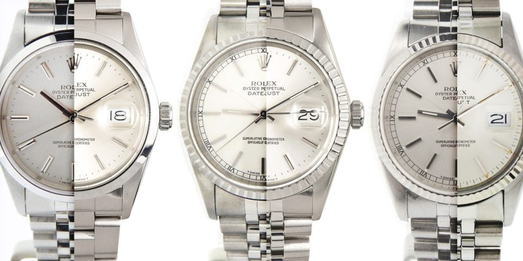 Quick Comparison Guide: Stainless Steel Rolex Datejust 16000, 16014, 16030, 16200, 16234, 16220