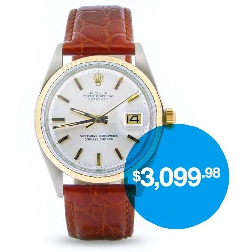 Buy a Rolex Datejust with Affirm