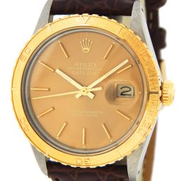 Mens Rolex Two-Tone Datejust Turn-O-Graph Bronze 16253 (SKU 8696960MT)