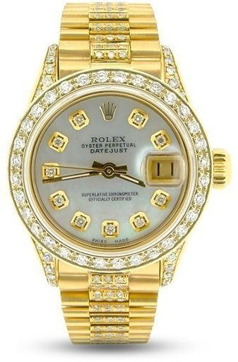 Rolex Ladies Datejust President Ref. 6917