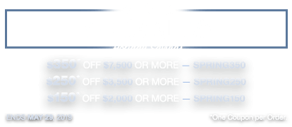 Memorial DAY — Holiday Savings!