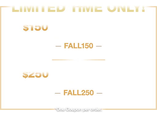 LIMITED TIME ONLY!
