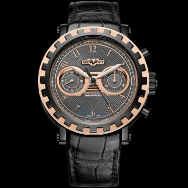 DeWitt 18K Rose Gold Academia  Gray Arabic-3