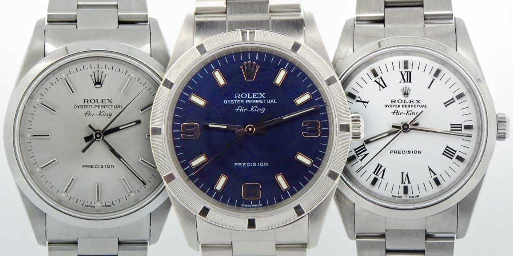A Beginner's Guide to Buying Pre-Owned Rolex Air-King Watches