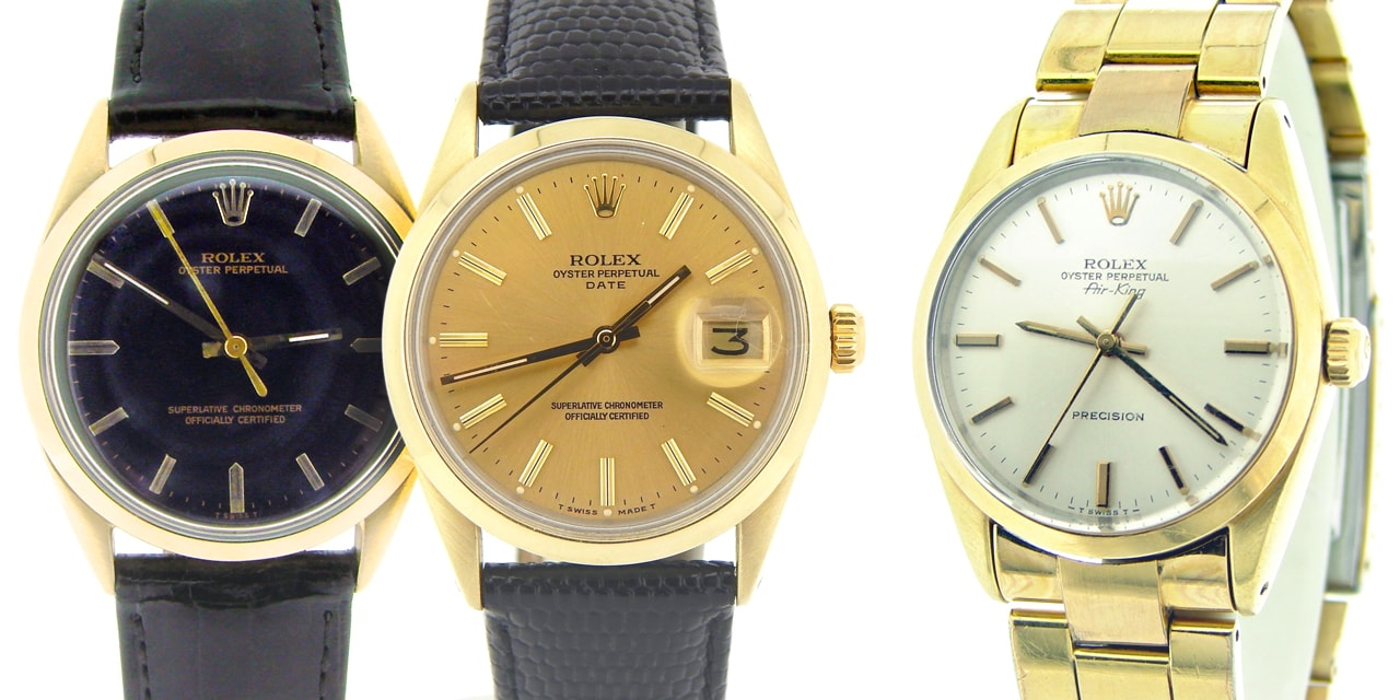 Post image for The Rolex Metals Series: Gold Shell