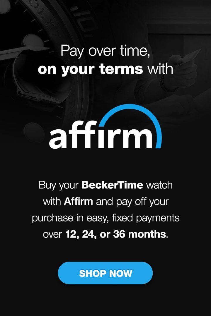 Pay over time, on your terms with Affirm!
