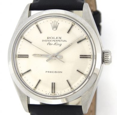 Rolex Stainless Steel Air-King 5500 Silver -1