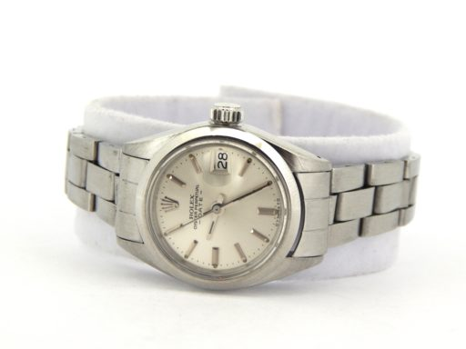 Rolex Stainless Steel Date 6916 Silver -5