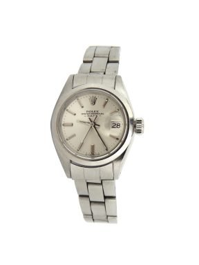 Rolex Stainless Steel Date 6916 Silver -6